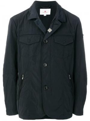 Пиджак на пуговицах Hollywood Peuterey. Цвет: синий
