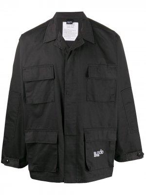 Куртка Tottenham Blood Brother. Цвет: черный