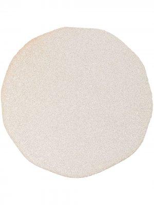 Круглая тарелка Marloe. Цвет: нейтральные цвета