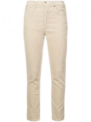 Узкие джинсы Olivia Citizens Of Humanity. Цвет: нейтральные цвета