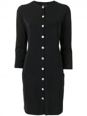 Платье из джерси agnès b.. Цвет: черный