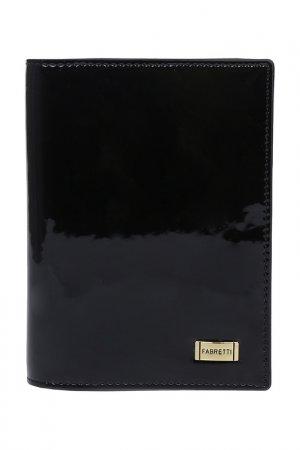 Обложка для документов Fabretti. Цвет: черный