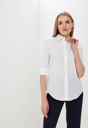 Рубашка Lauren Ralph. Цвет: белый