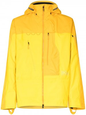 Лыжная куртка Gore-Tex Pro Burton AK. Цвет: желтый