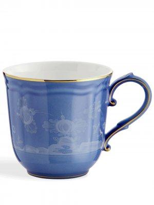 Кружка Oriente Italiano GINORI 1735. Цвет: синий