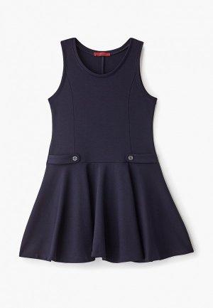 Платье Choupette. Цвет: синий