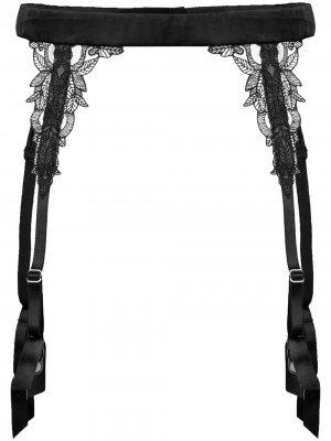 Подвязки Onyx Fleur Of England. Цвет: черный