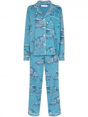 Пижама Bocas Desmond & Dempsey. Цвет: синий