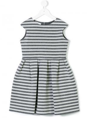 Платье в полоску Elsy. Цвет: серый