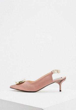 Туфли N21. Цвет: розовый