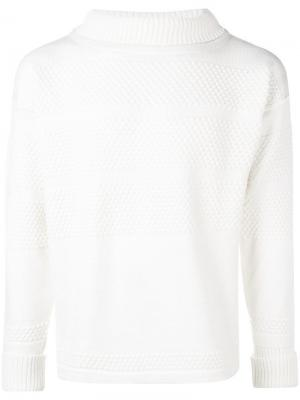 Fisherman jumper S.N.S. Herning. Цвет: белый