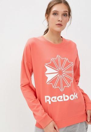 Свитшот Reebok Classics. Цвет: коралловый