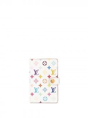Обложка для блокнота Carnet Deval 2003-го года Louis Vuitton. Цвет: белый