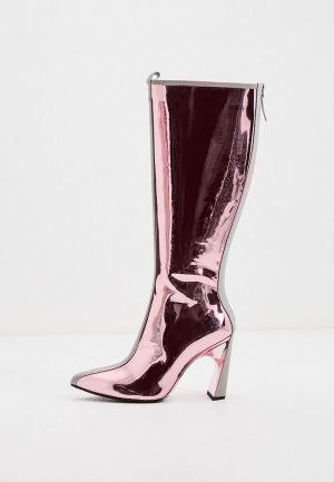 Сапоги United Nude. Цвет: розовый