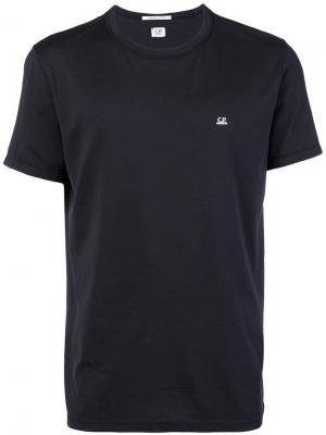 Свободная футболка CP Company. Цвет: синий