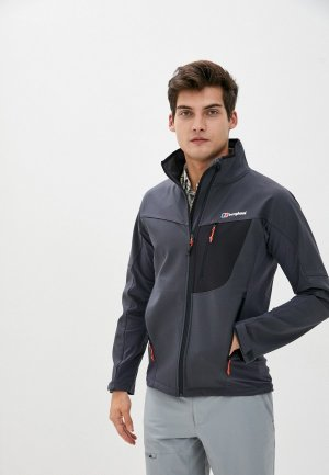 Куртка Berghaus. Цвет: серый