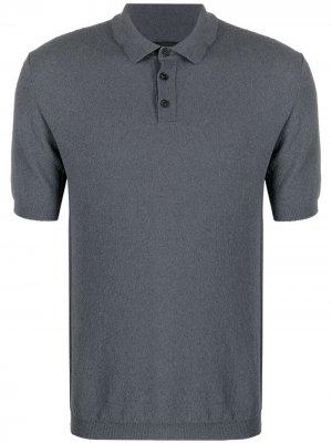 Рубашка поло Teddy Roberto Collina. Цвет: серый