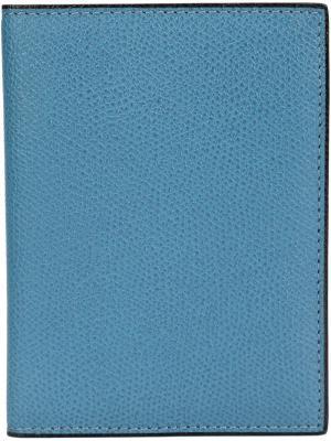 Папка для документов Valextra. Цвет: синий