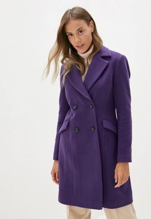 Пальто adL. Цвет: фиолетовый