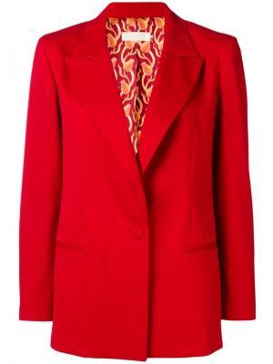 Пиджак с широкими лацканами L'Autre Chose. Цвет: красный