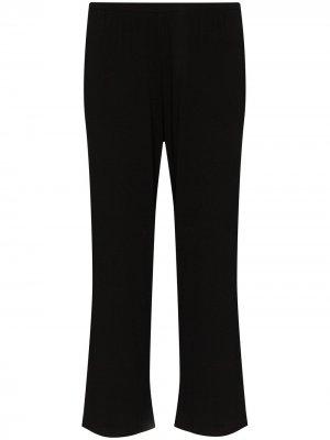 Широкие укороченные брюки Noelle Skin. Цвет: черный