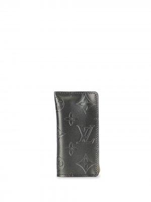 Ключница Clochette PM 2002-го года pre-owned Louis Vuitton. Цвет: черный
