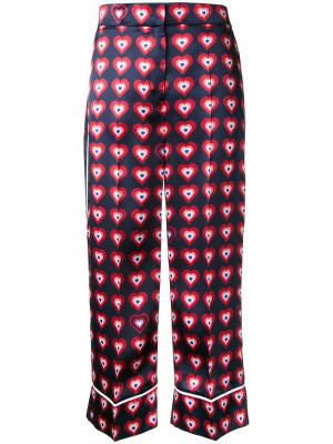 Пижамные брюки Fendi. Цвет: синий