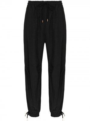 Спортивные брюки с кулиской See by Chloé. Цвет: черный