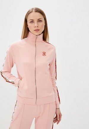 Олимпийка Zoe Karssen. Цвет: розовый