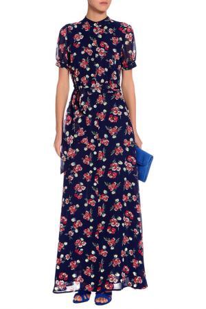 Платье Argent. Цвет: мультиколор, синий