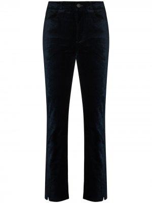 Бархатные брюки Cindy PAIGE. Цвет: синий