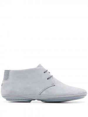 Ботинки Right Nina на шнуровке Camper. Цвет: серый