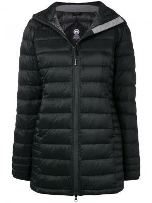 Пуховая куртка Canada Goose. Цвет: черный
