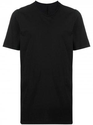 Однотонная футболка с круглым вырезом Rick Owens DRKSHDW. Цвет: черный
