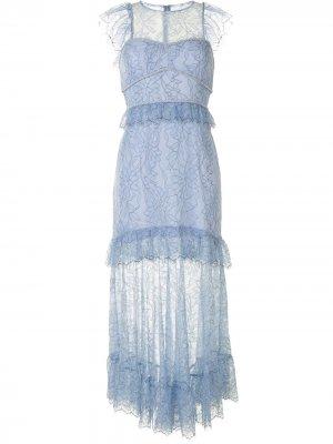 Платье миди I Found You Alice McCall. Цвет: синий