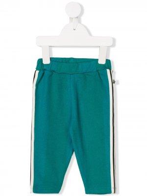 Side stripe track pants Noé & Zoë. Цвет: зеленый