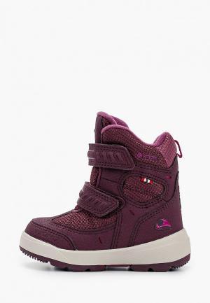 Ботинки Viking. Цвет: бордовый