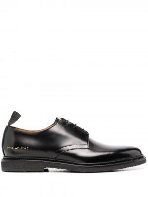 Туфли дерби на шнуровке Common Projects. Цвет: черный