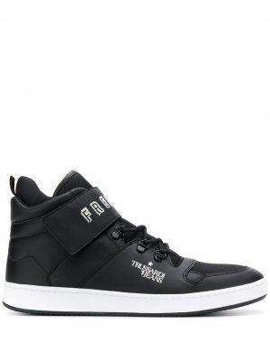 Кеды Freedom Trussardi Jeans. Цвет: черный