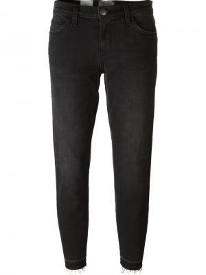 Укороченные джинсы Current/Elliott. Цвет: черный
