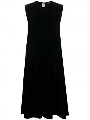 Платье без рукавов Rochas. Цвет: черный
