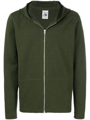 Худи с застежкой на молнию S.N.S. Herning. Цвет: зеленый