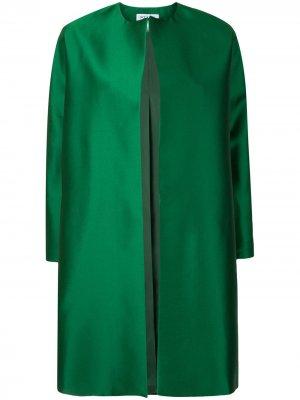 Пальто без застежки Dice Kayek. Цвет: зеленый