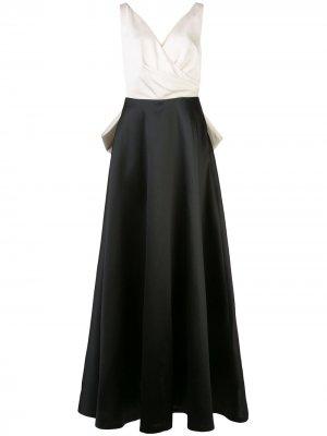 Платье Cleo с запахом Sachin & Babi. Цвет: черный