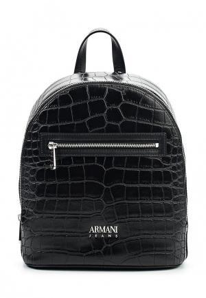 Рюкзак Armani Jeans. Цвет: черный