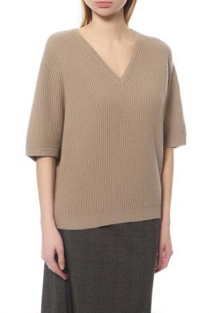 Пуловер Peserico. Цвет: бежевый