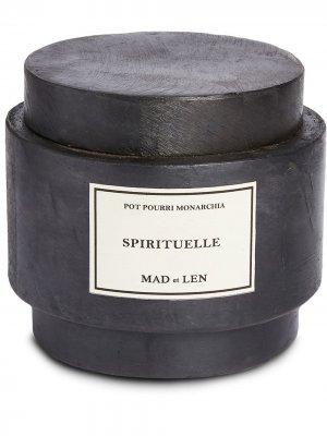 Парфюмированные камни лавы Spirituelle Monarchia Mad Et Len. Цвет: черный