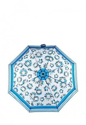 Зонт складной Elisabeth. Цвет: синий