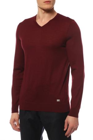 Пуловер BOGNER. Цвет: красный