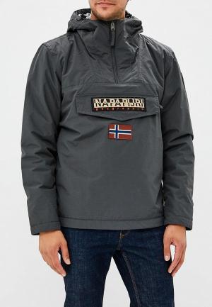 Куртка утепленная Napapijri. Цвет: серый